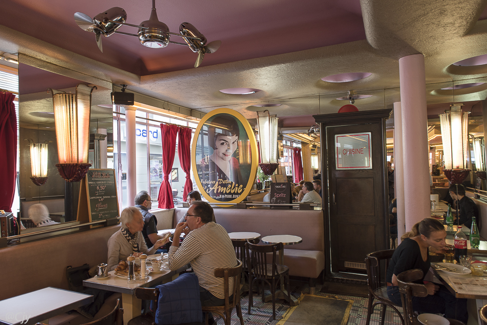 Le café d'Amélie Poulain