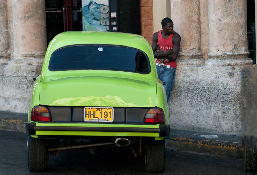 Green car @Cjy