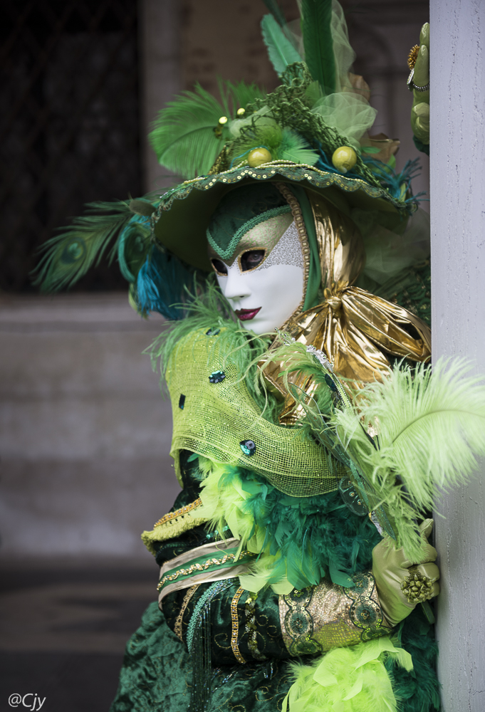 la dame au chapeau vert