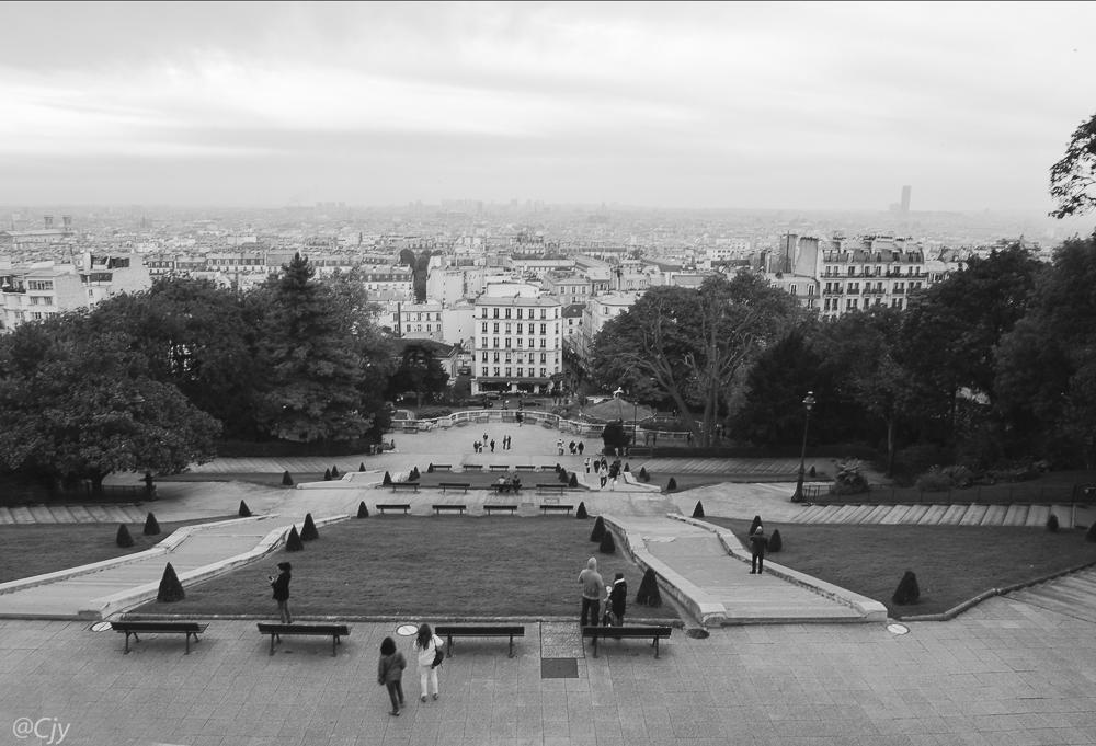 Paris vu d'en haut