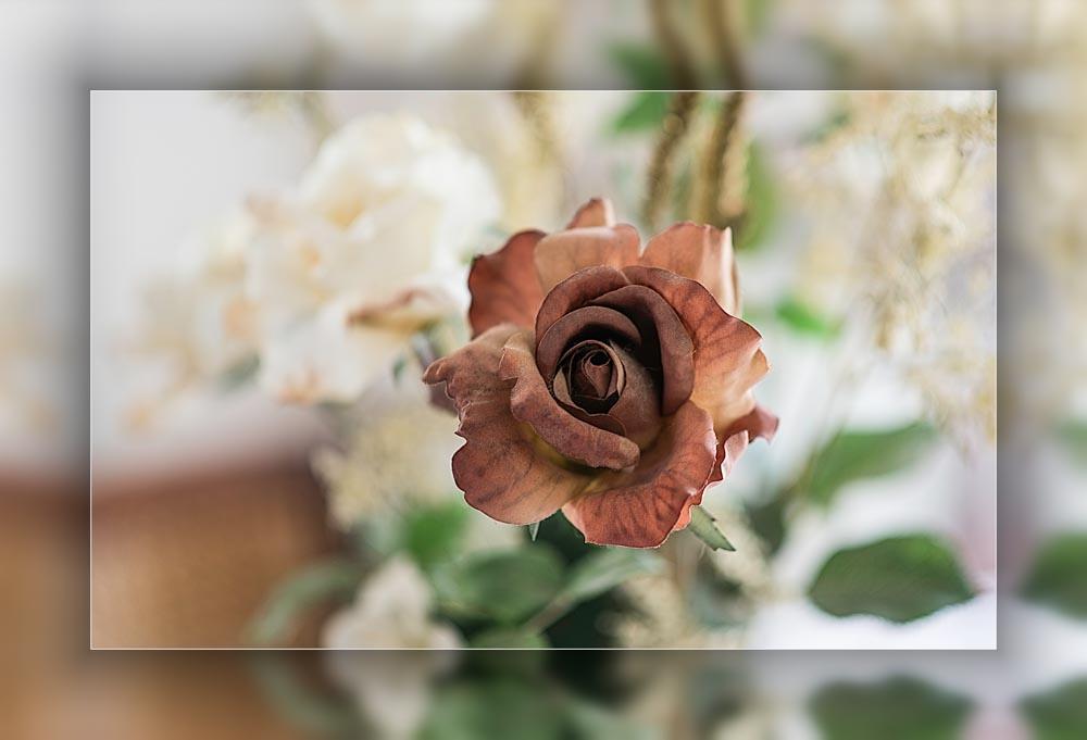 Rose feutrine @Cjy